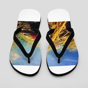 Rainbow Trout Flip Flops