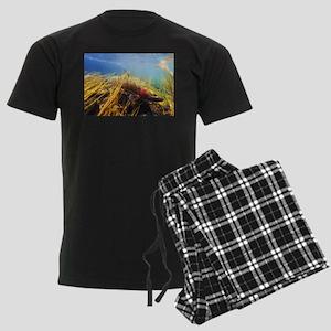 Rainbow Trout Men's Dark Pajamas