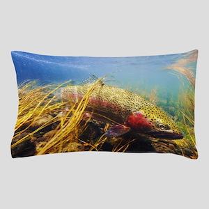 Rainbow Trout Pillow Case