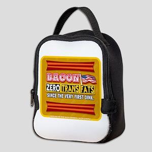 BACON Zero Trans Fats Neoprene Lunch Bag