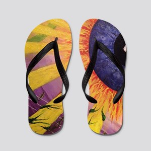 sun god Flip Flops