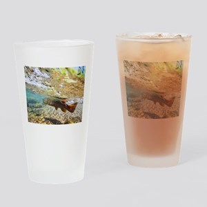 Brown Trout Drinking Glass