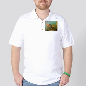 Peacock Bass Golf Shirt