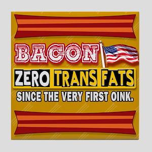 Bacon - Zero Trans Fats Tile Coaster