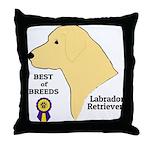 YellowLabTee Throw Pillow