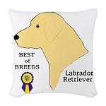 YellowLabTee Woven Throw Pillow