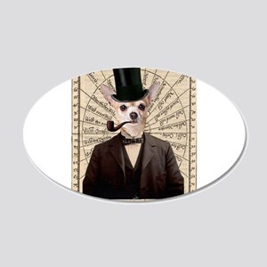Steampunk Chihuahua Dog Victorian Altered Art Wall