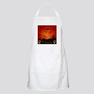 Harvest Moons 1St Cavalry Past Present Apron