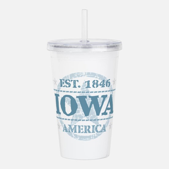 Iowa Acrylic Double-wall Tumbler