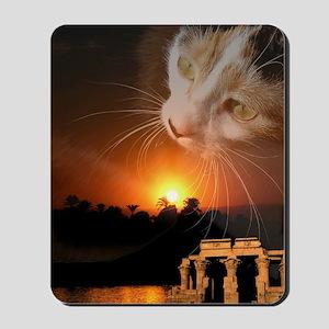 egyptian cat godess Mousepad