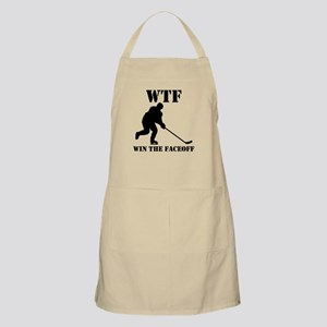 WTF Win The Faceoff Apron