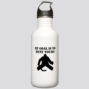 My Goal Is To Deny Yours Sports Water Bottle