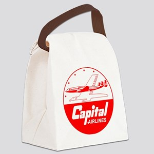 Capital Airlines Canvas Lunch Bag