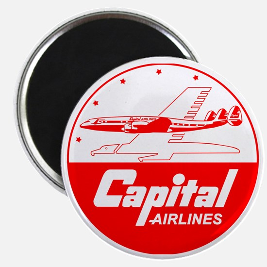 Capital Airlines Magnet