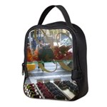Pastry Window Tall Neoprene Lunch Bag