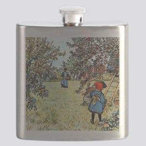 Carl Larsson: The Apple Harvest Flask