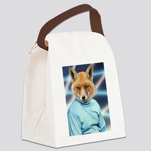 Fox Man Yearbook Photo Altered Art Kawaii Quirky C