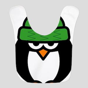 Funny penguin cartoon Bib