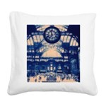 grandcentralstation Square Canvas Pillow