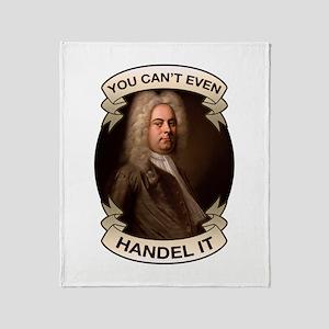Handel Pun Throw Blanket