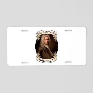 Handel Pun Aluminum License Plate