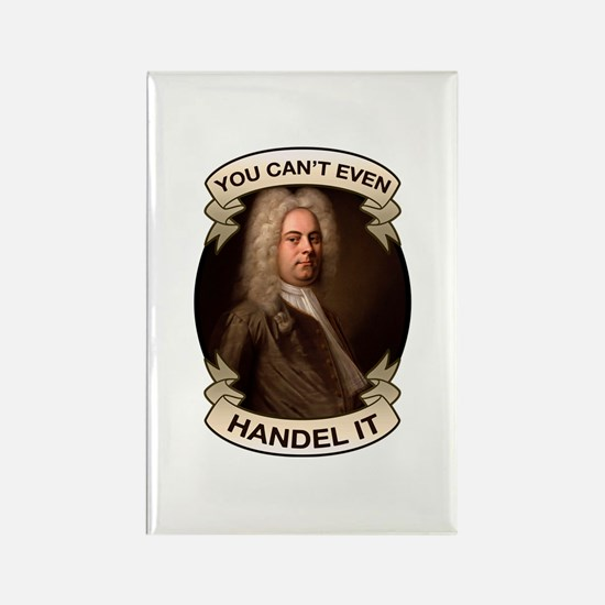 Handel Pun Rectangle Magnet