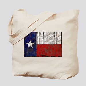 Texas Retro State Flag Tote Bag