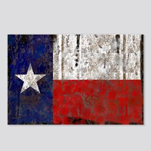 Texas Retro State Flag Postcards (Package of 8)