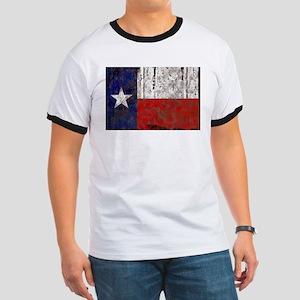 Texas Retro State Flag Ringer T