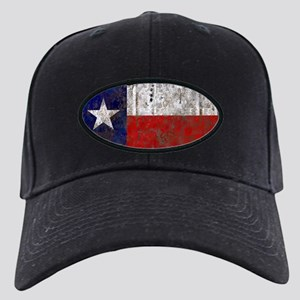 Texas Retro State Flag Black Cap