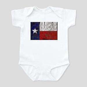 Texas Retro State Flag Infant Bodysuit