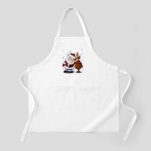 Santa, Rudolph Christmas Apron