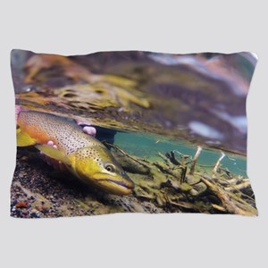 Brown Trout - Catch and Release Pillow Case