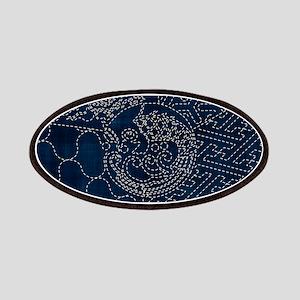 Sashiko-style Embroidery Patches