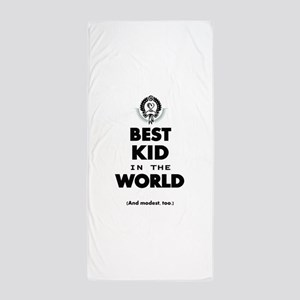 The Best in the World Best Kid Beach Towel