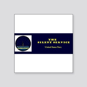 bumperstickersilentserv Sticker