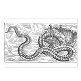 Sea monster Postcards