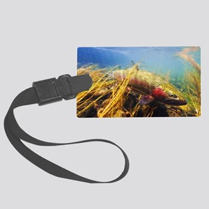 Rainbow Trout Large Luggage Tag