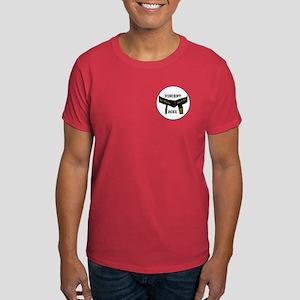 Martial Arts 4th Degree Black Belt Dark T-Shirt