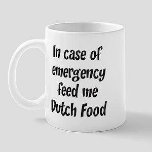 Feed me Dutch Food Mug