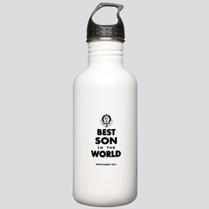 The Best in the World Best Son Sports Water Bottle