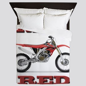 RideRed 08 Queen Duvet