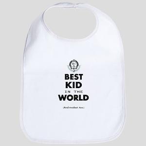 The Best in the World Best Kid Bib
