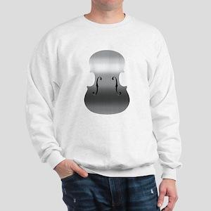 Brushed Chrome F Holes Sweatshirt