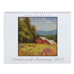 Countryside Painting Wall Calendar