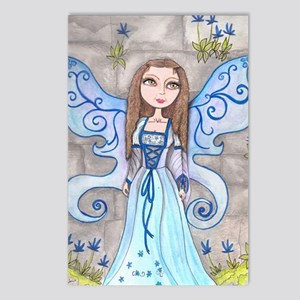 Blue Fairy Postcards (Package of 8)