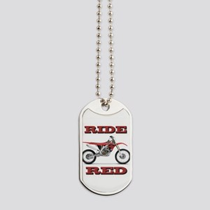 RideRed 08 Dog Tags