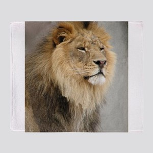 Lion Lovers Throw Blanket