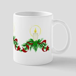 christmas candle drinkware Mugs