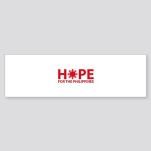 Hope For The Philippines Sticker (Bumper)